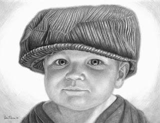 Portraits pencil drawings