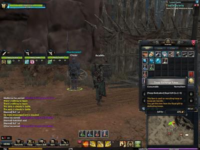 KUF2 - Troop Exchange Quartermaster
