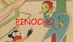 Pinocho, revista infantil de 1925.