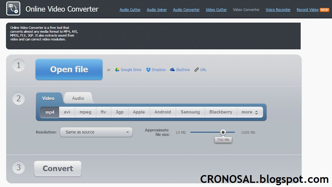 Cara Mengubah Format Video dengan 5 Tools Video Converter Online Gratis
