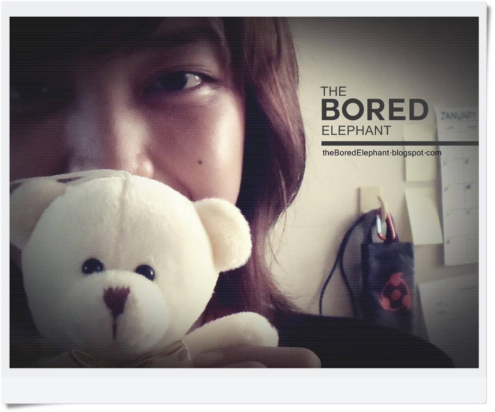 bored elephant