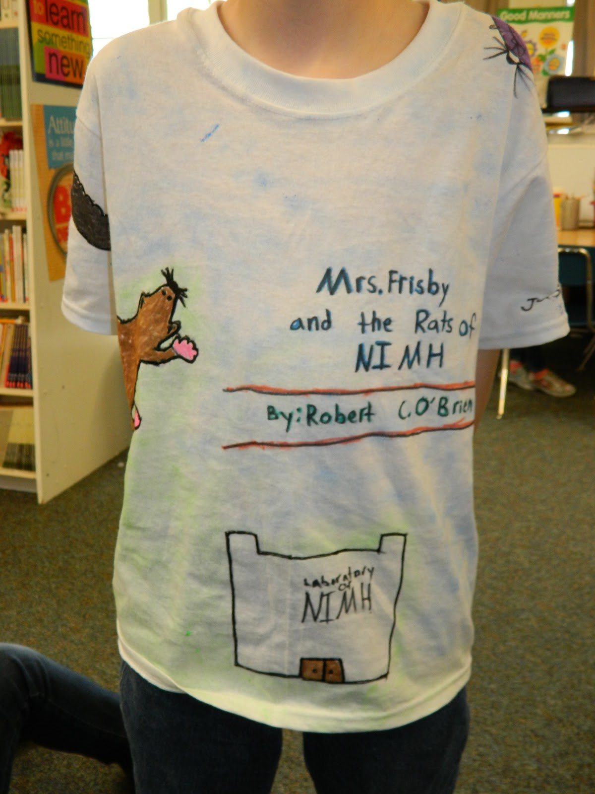 tee shirt book report