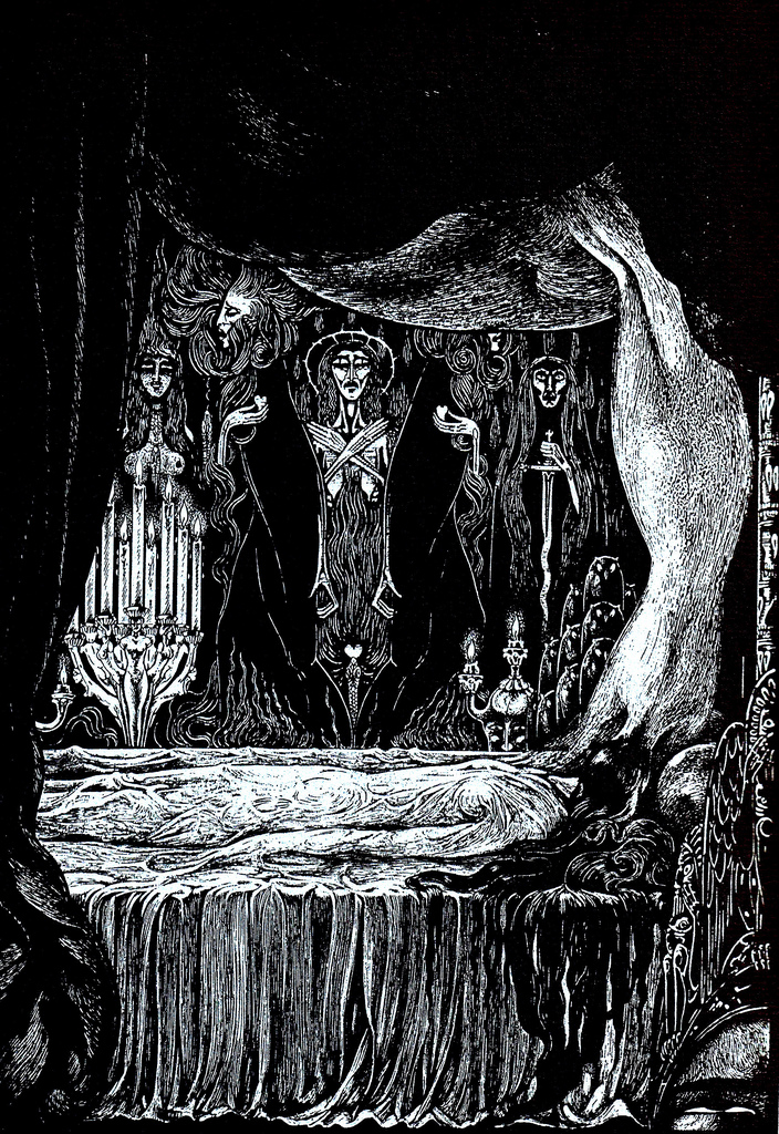 edgar allan poe illustrations - photo #16