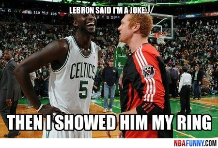 White Mamba and KG laughing about LeBron Funny NBA Moments