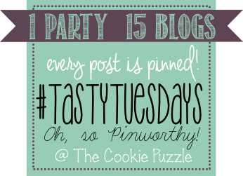 Tasty Tuesday Link Party at The Cookie Puzzle