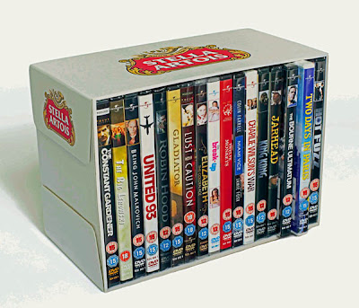 stella artois DVD in every pack