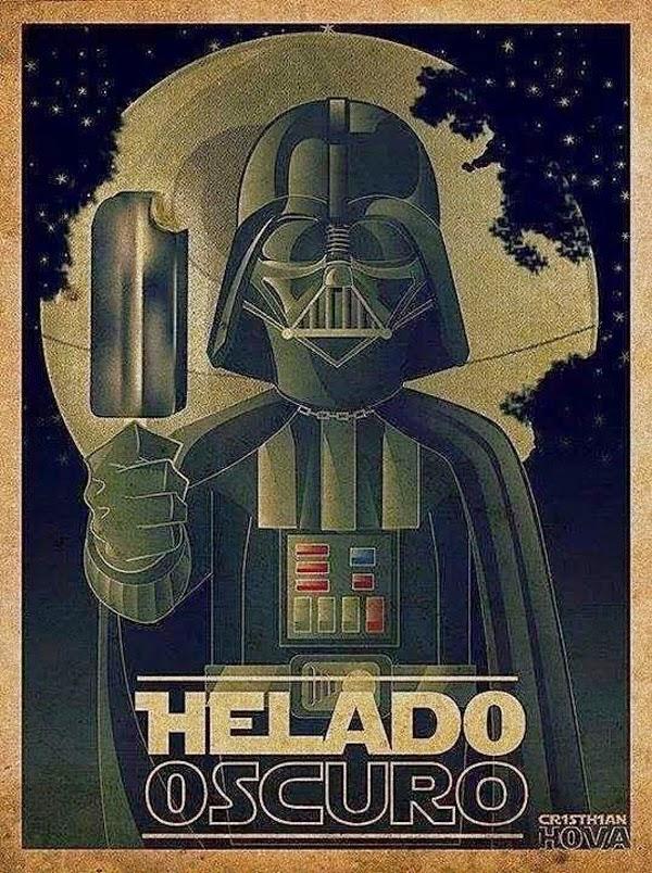 Helado Oscuro de la fuerza!