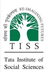 TISS Associate Professor Recruitment Nov 2013