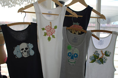 embellished womens tank tops