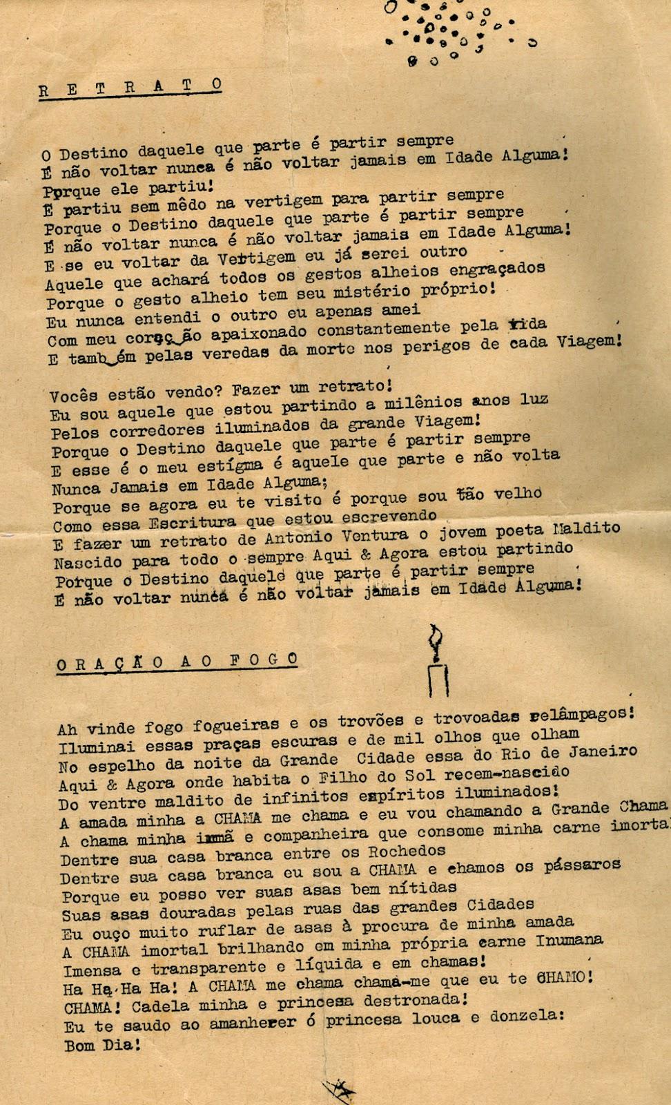 poemas mimeografados
