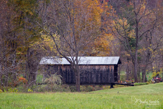 Covered Bridge, by Judy Parsons Smith
