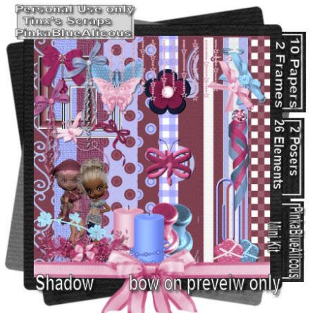 pinkabluealicous mini kit