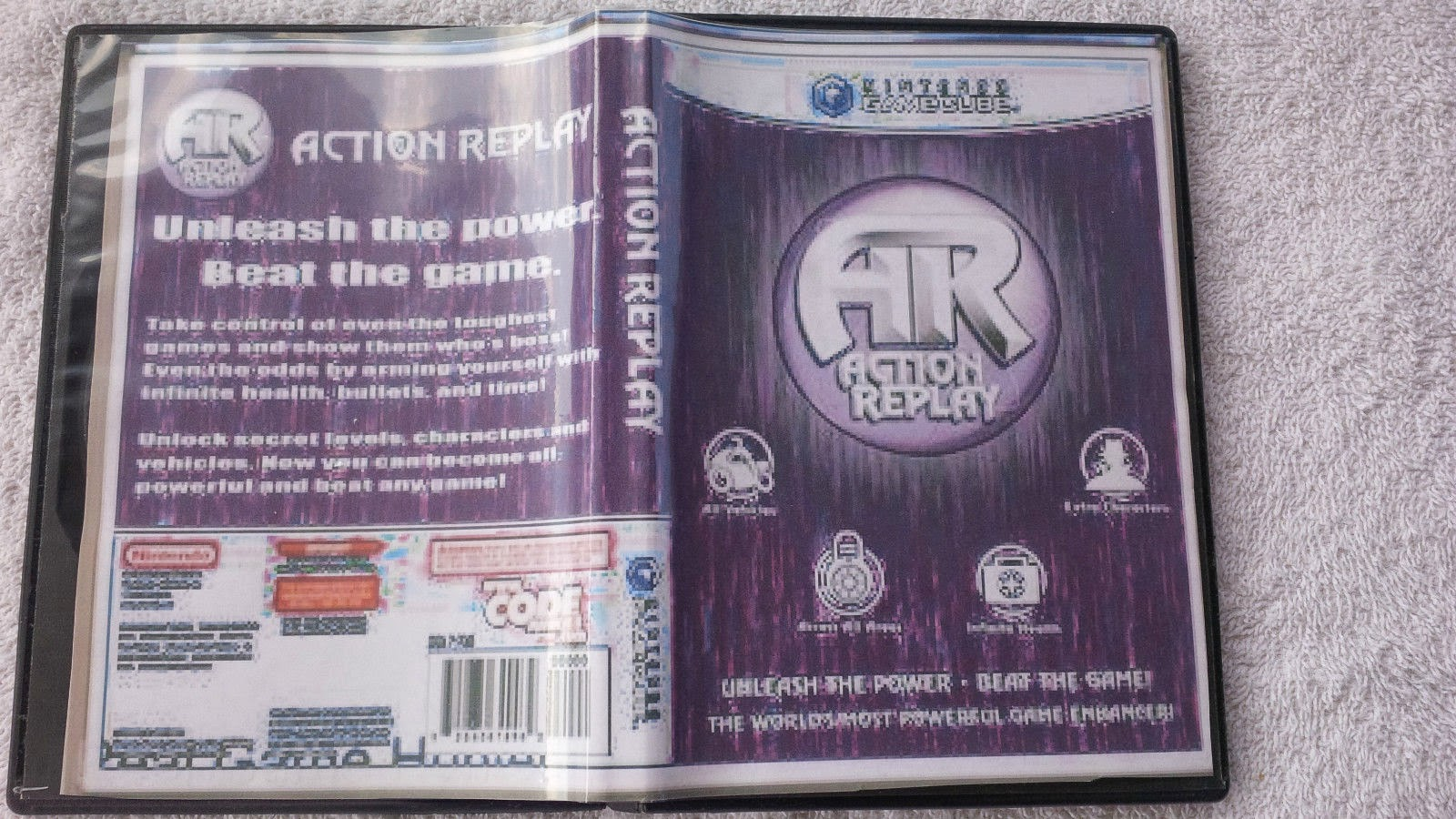 Download free Action Replay Code Manager 1.25