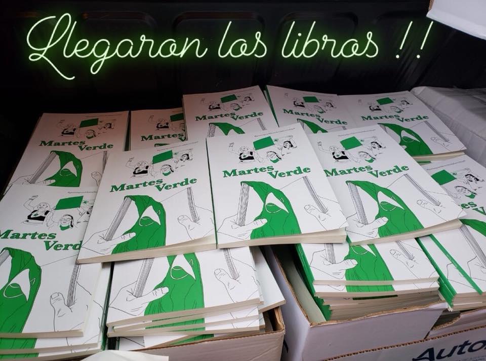 Martes Verde. Poetas por el Derecho al Aborto Legal. 2018.