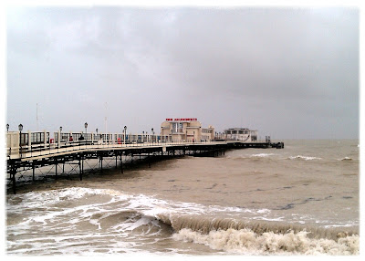 Worthing Pier, view from west side