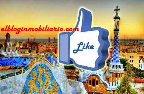 Barcelona Likes Me gusta facebook elbloginmobiliario.com