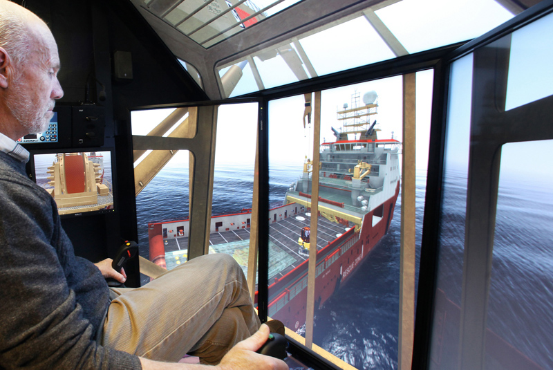 Offshore Crane Training Simulator