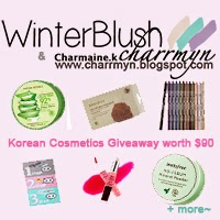 Charrmyn x Winter Blush Korean Cosmetics Giveaway
