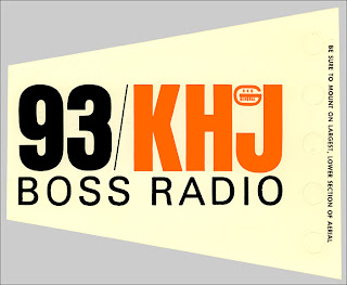 KHJ Boss Radio Antenna Flag