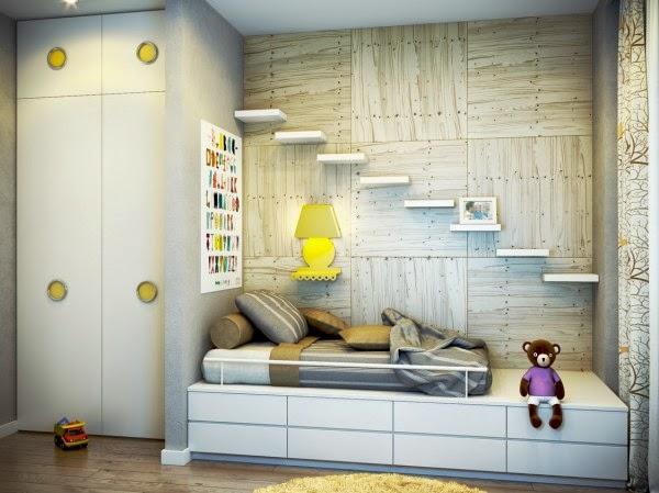 تصاميم اثاث غرف نوم اطفال حديثة – صور ديكورات حوائط و ارضيات غرف
