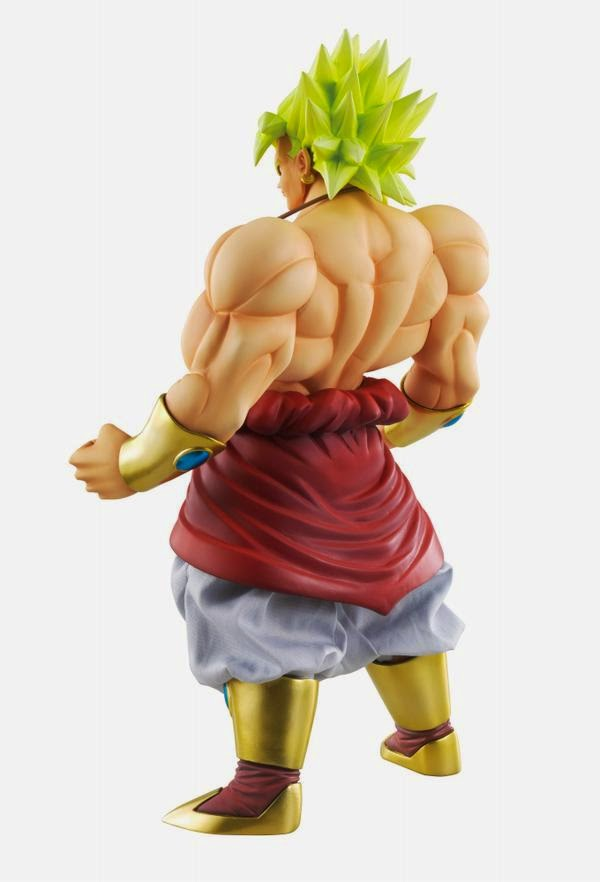 broly super saiyan figure