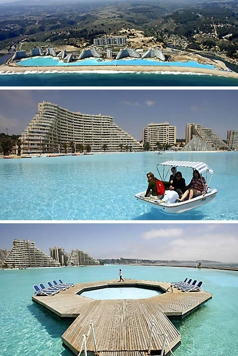 San Alfonso Del Mar Swimming Pool Algarrobo, Chile