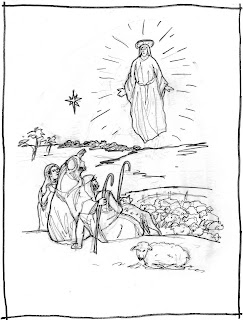 coloring pages luke 7 - photo#42