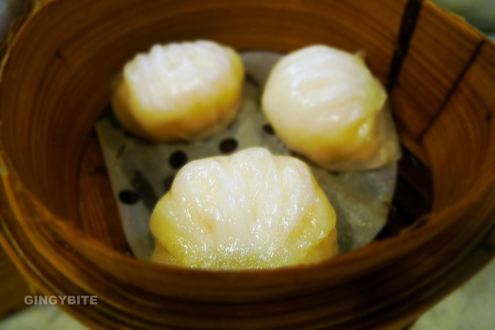 Yum Cha prawn dumpling