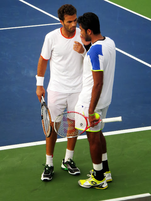 Aisam Qureshi Jean-Julien Rojer 2013 US Open