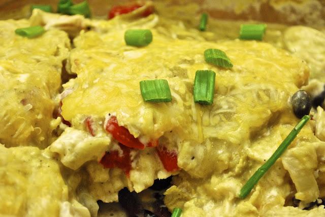 """""""Point-less"""" Meals: Chicken Tortilla Chip Casserole"""
