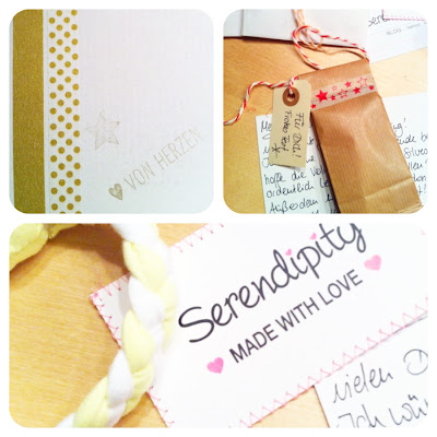 Paket von Serendipity Made with love