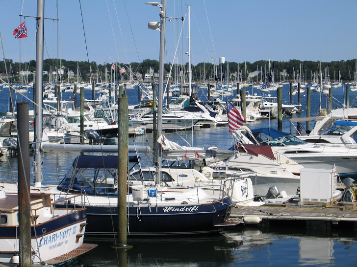 Hawthorne Cove Marina, Salem, MA, July 2011