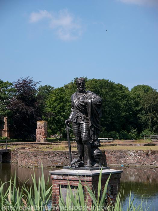 graaf Lamoraal van Egmond, Lamoraal van Egmond, count Lamoraal van Egmond, slot op den hoef