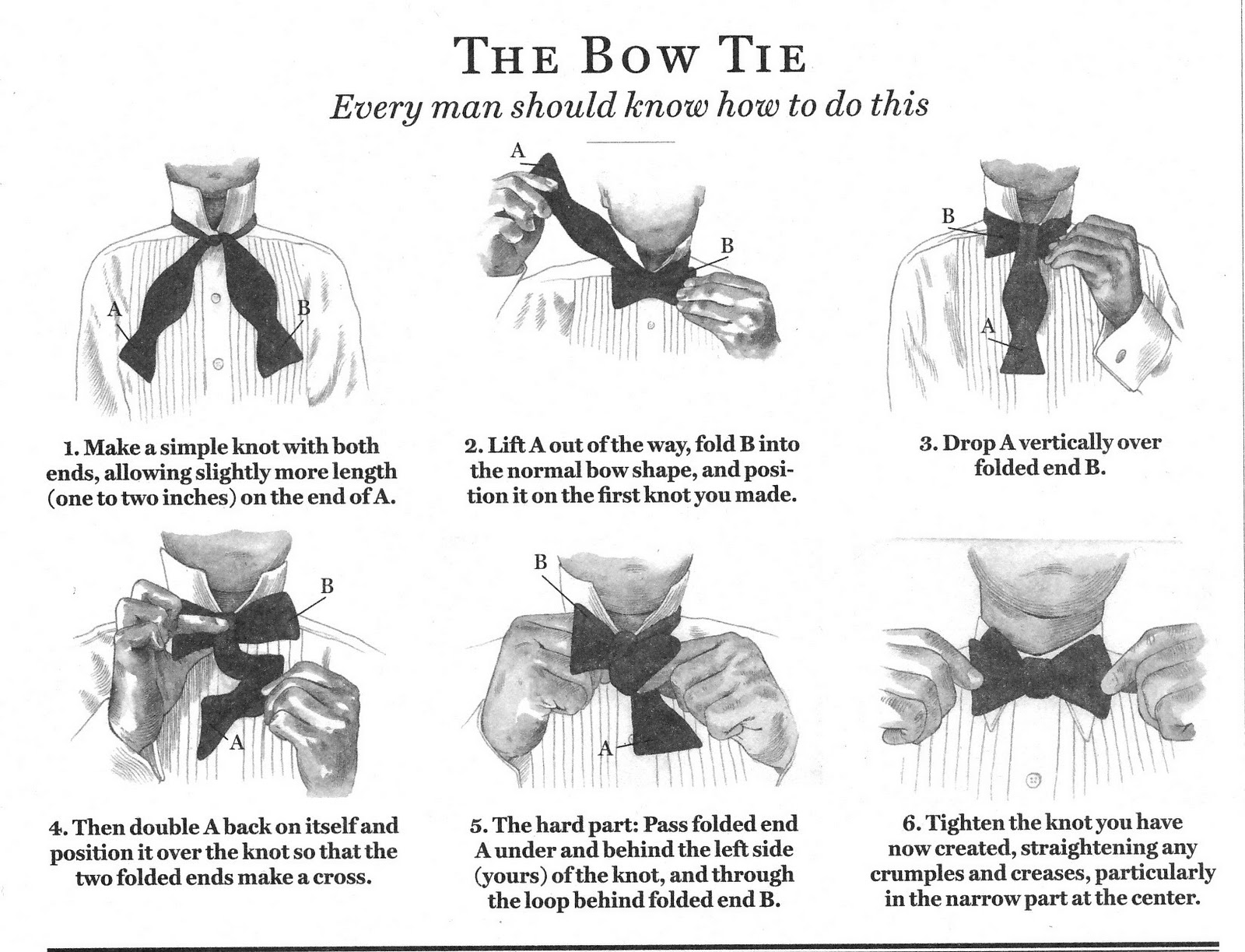 Burdi: The Bow Tie... your arch nemesis.