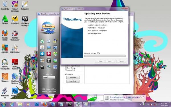 Cara Mengatasi Error 507 pada Blackberry Gemini 8520