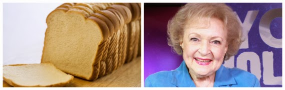 Betty White is older than sliced bread