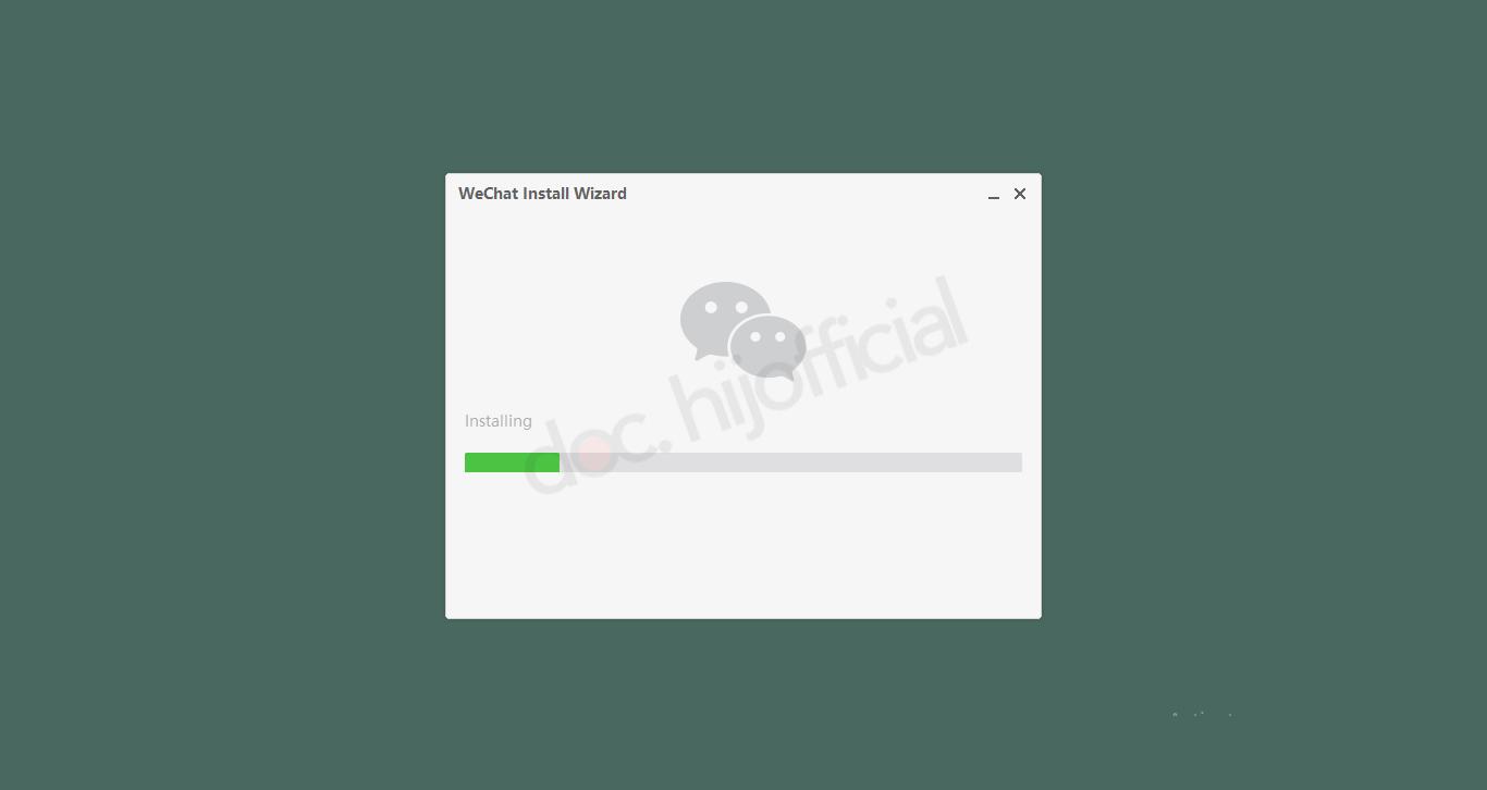 Cara Mudah Instal Wechat Di PC 2