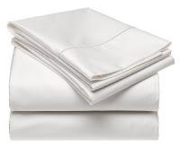 sábanas hoteleras blancas