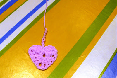 corazon de ganchillo