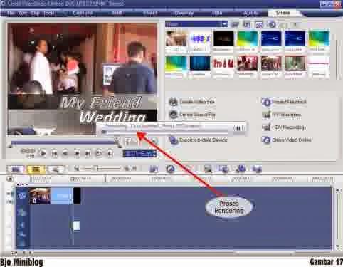 RAE jual beli online: Tutorial Ulead Video Studio 11 (edit video)