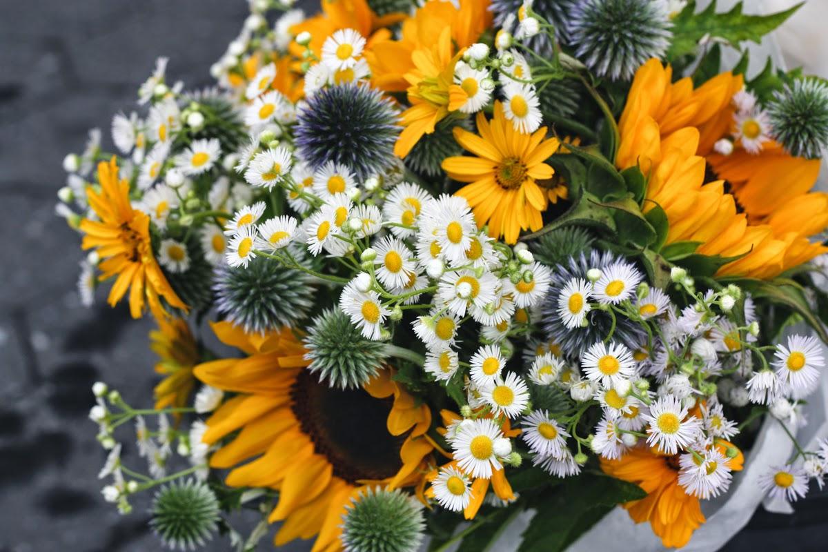 union square greenmarket flowers bouquet