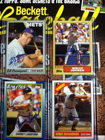 Thelostcardsfile 2012 Topps Archives Box Break Review