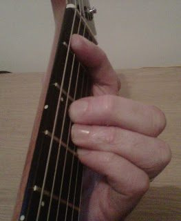 b flat major guitar chord