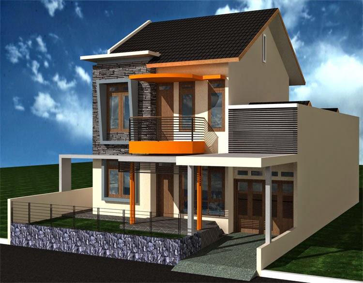 Gambar Desain Rumah Mewah Minimalis 2 Lantai 2015 Terbaru