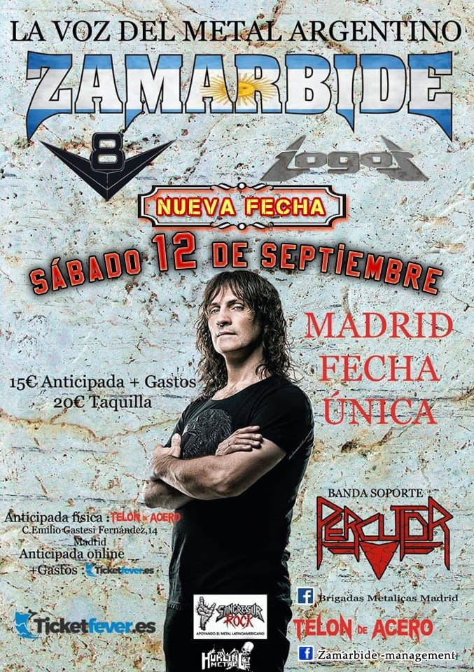 ZAMARBIDE EN MADRID