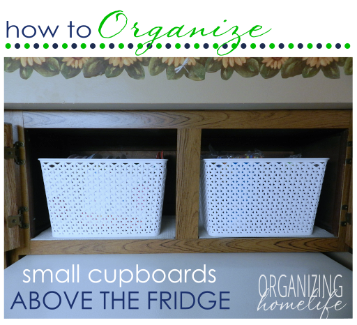 Organizing Ideas For The Weekend: More Awkward Kitchen Cabinet Ideas!