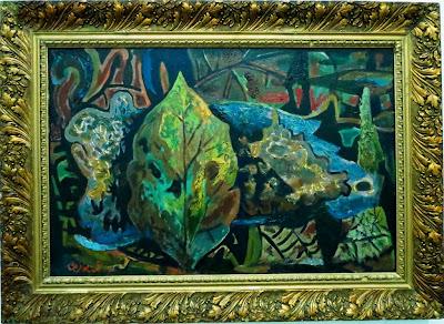 Роман Сельский, Лесной пейзаж, 1972