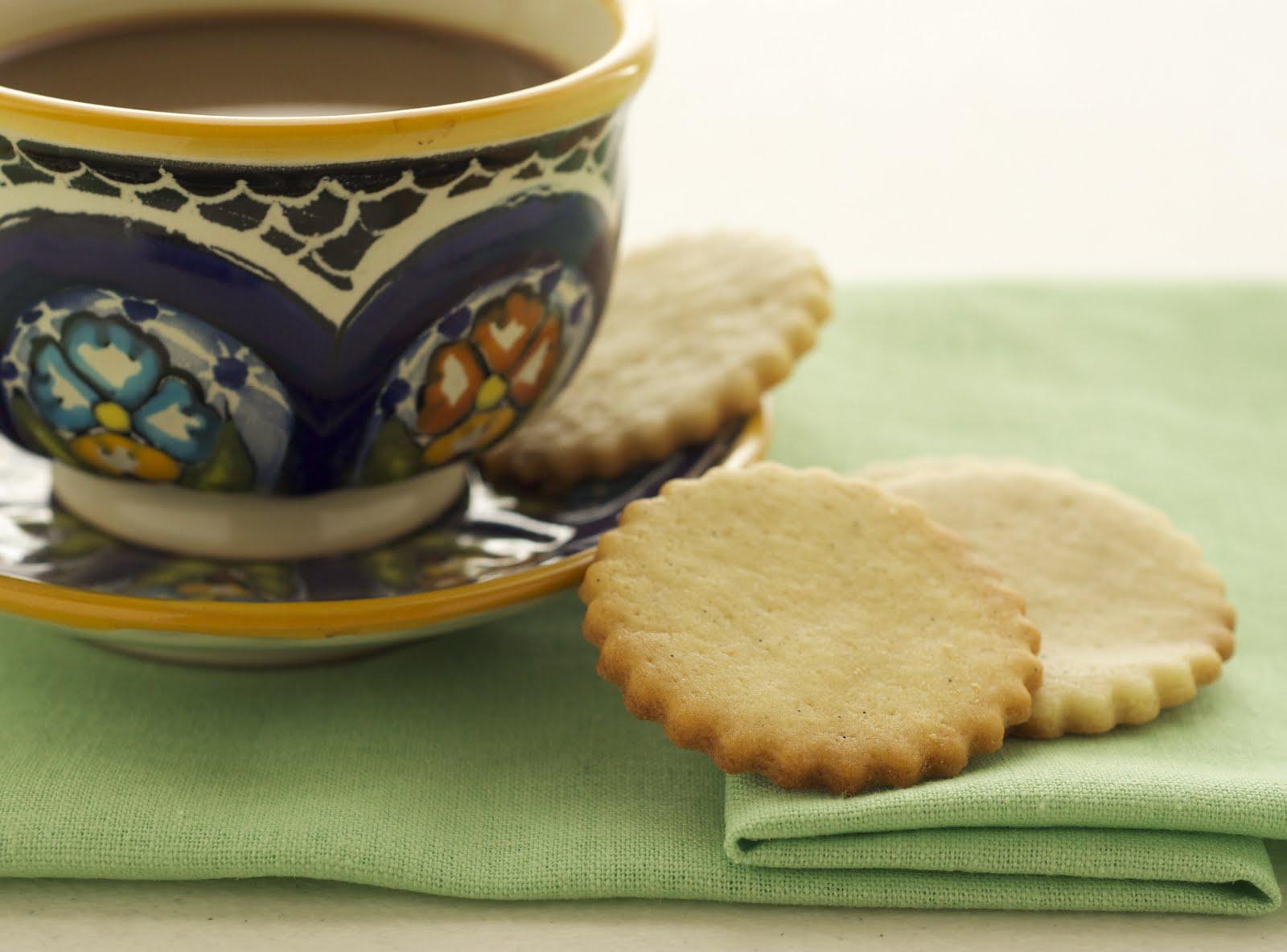 how to make vanilla shortbread cookies