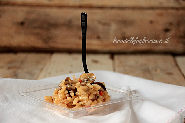 come fare risotto ai funghi