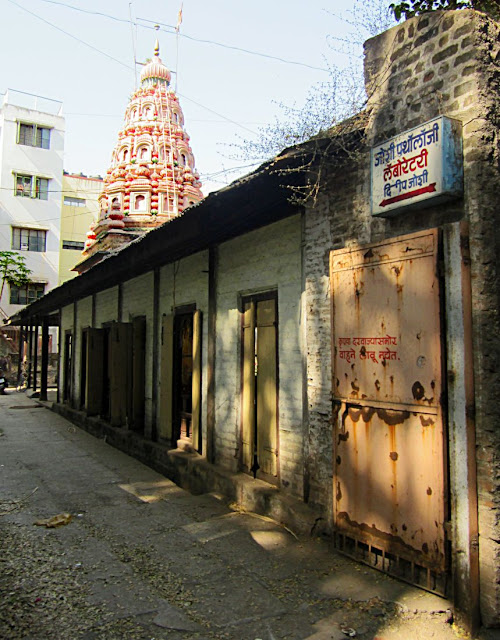 view of ancient temple in pune